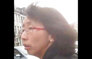 Asiático dama da xxx español latino un escupir mamada